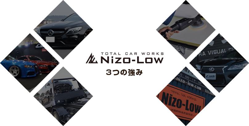 Nizo-Low 3つの強み